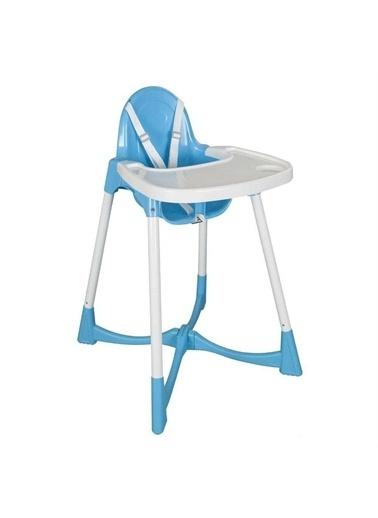 Pilsan Pratik Mama Sandalyesi - Yıkanabilir Kılıflı Mavi